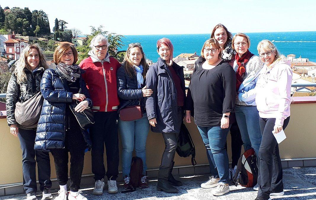 Obisk iz Nemčije in Italije