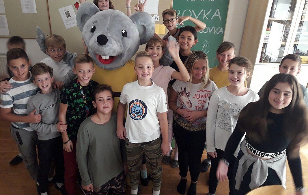Obiskala nas je Rovka Črkolovka!!!