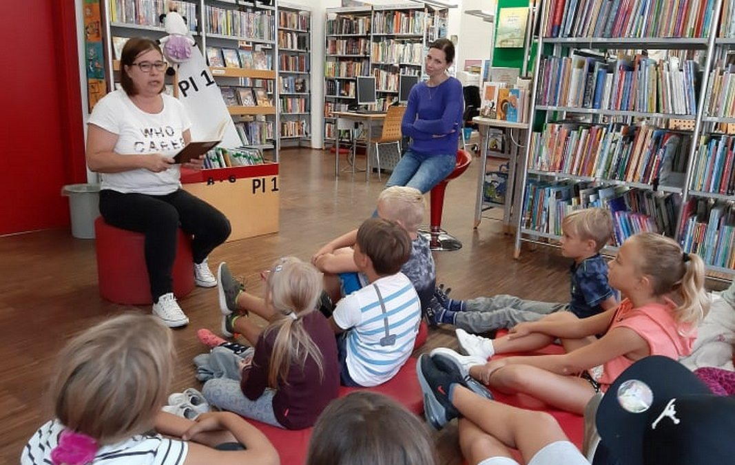 Tudi učenci 3. a smo obiskali Mestno knjižnico Piran